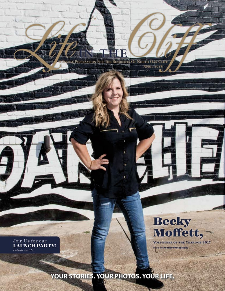 Take a Peek Inside the Life of Our Owner Becky Moffett! Volunteer of the Year!